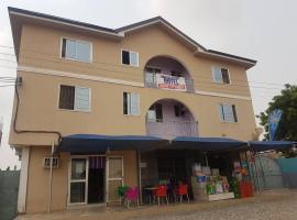 Endless Delight Hotel, Kokrobite (рядом с городом Bortianor)