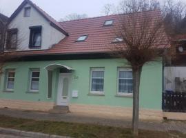 Ferienwohnug mit Blick zur Altenburg