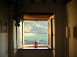 Una finestra su Spoleto, Spoleto (Monteluco yakınında)