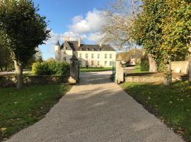 Le Château d'Asnières en Bessin, Asnières-en-Bessin (рядом с городом Englesqueville-la-Percée)