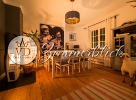 Zimmerblick Villa Dohna