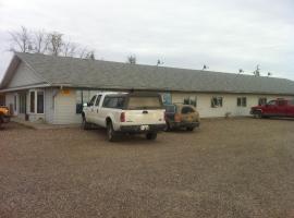 Midway Motel, Radisson (Borden yakınında)