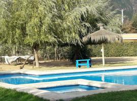 Cabañas VillaCasta, Olmué (Ojos Buenos yakınında)