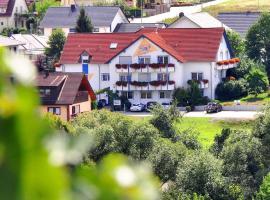 Hotelpension Gästehaus Birgit, Bad Mergentheim (Vorbachzimmern yakınında)