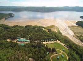 Village Vacances Petit-Saguenay, Petit-Saguenay (Sacré-Coeur-Saguenay yakınında)