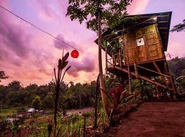 Bali Tree House Pelangi, Бедугул (рядом с городом Plaga)