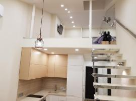 Two-Level Apartment in Livadiya, ヤルタ