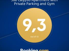 568 Calypso Apartment with Private Parking and Gym