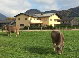 Ferienwohnung Thannen, Lingenau (Langenegg yakınında)