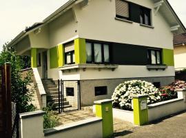 Villa bonheur Illfurth Alsace 4 chambres, Illfurth (рядом с городом Eglingen)