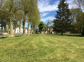 Demeure des Pothières, Villeneuve-la-Lionne (рядом с городом Montdauphin)