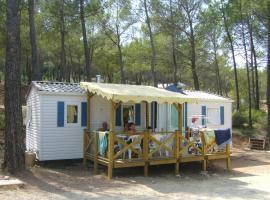 Camping Les Cadenières, Вилькроз (рядом с городом La Haute Maure)