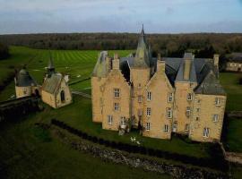 Chateau de Bourgon, Montourtier (рядом с городом Montsûrs)