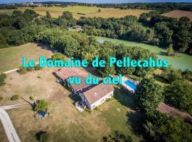 Gîtes de Pellecahus, La Romieu