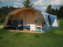 Camping de Regenboog Tent 4 persons, Šluknov