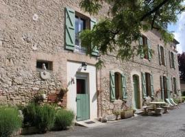 House Roumanieu le gîte, Saint-Gauzens (рядом с городом Parisot)