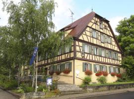 Hotel Schwarzes Ross, Steinsfeld (Gallmersgarten yakınında)