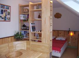 La maison de poupet, Salins-les-Bains (рядом с городом Pretin)