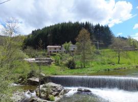 Gîte-La Combelle, Dornas (рядом с городом Marcols-les-Eaux)