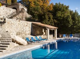 Panoramic view with pool, Tourrettes-sur-Loup