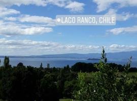 Cabaña Vista hermosa, Lago Ranco (Puerto Nuevo yakınında)