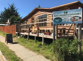 Monte Campamento Hostel, Puerto Bertrand