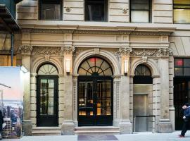 紐約斯坦福酒店, 紐約