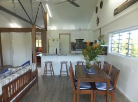 Mulgrave River Boathouse, Bellenden Ker