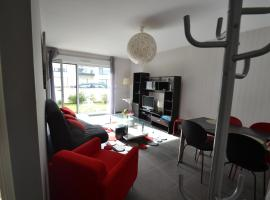 Appartement St Malo Rotheneuf, Сен-Мало (рядом с городом Rothéneuf)