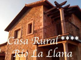 Casa Rural Río la Llana, Ла-Альберка (рядом с городом Лас-Местас)