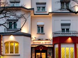 Hôtel du Midi, Сент-Этьен (рядом с городом Ла-Рикамари)