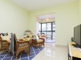 Haikou Two-Bedroom Apartment with Sea View, Haikou (Houlang yakınında)