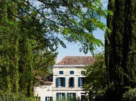 Manoir Laurette, Saint-Michel-Lapujade (рядом с городом Saint-Martin-Petit)