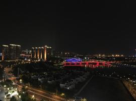 苏室17-五缘湾BRT旁海景LOFT复式公寓直达火车站中山路鼓浪屿码头, Gaolin (Dunshang yakınında)