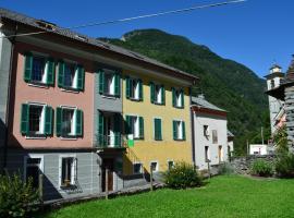Hotel Garni Maggia, Coglio (Someo yakınında)