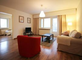 Convenient and comfortable two-bedroom apartment for four guests near Tampere (ID 8850)