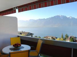 Apartment Residence Bellevue, Montreux (Le Châtelard yakınında)