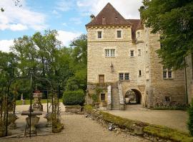 Villa Le Vieux Château, Voutenay-sur-Cure (рядом с городом Givry)