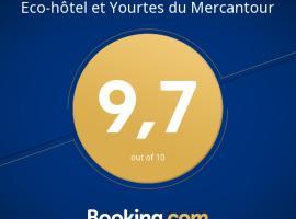 Eco-hôtel et Yourtes du Mercantour, Guillaumes (рядом с городом Sauze)
