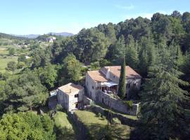Maison Vierthaler en haut, Sanilhac (рядом с городом Tauriers)
