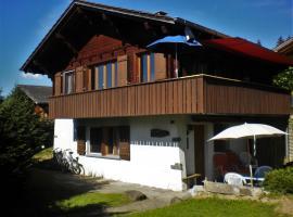 Chalet Obere Steinweide, Reichenbach (Kiental yakınında)