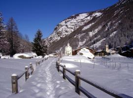 Ferienwohnung Bellevue, Saas-Balen (рядом с городом Simplon Dorf)