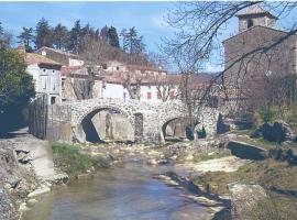 Chestnut House, Labastide-en-Val (рядом с городом Serviès-en-Val)