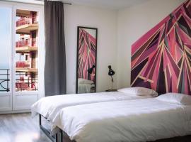 1820 Guest House, Montreux (Villeneuve yakınında)