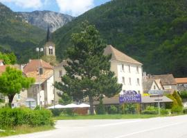 Hôtel Restaurant Les Alpins, Сен-Жюльен-ан-Бошен (рядом с городом La Faurie)