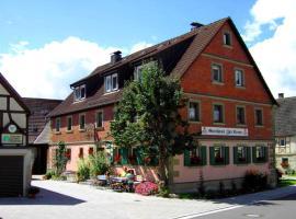 Gasthaus Zur Krone, Windelsbach (Burgbernheim yakınında)