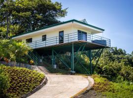 CRT - Villa Vista Hermosa, Quepos (Pocares yakınında)