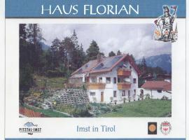 APART-HAUS-FLORIAN-Terrassenappartement, Imst (Imsterberg yakınında)