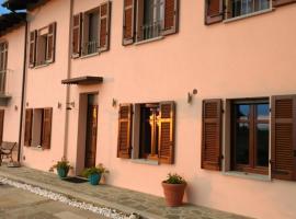 Cascina Raggio di Sole B&B, Nizza Monferrato (Vinchio yakınında)