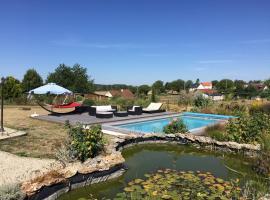 Gîte piscine Loches Beauval, Saint-Hippolyte (рядом с городом La Pinçonnière)